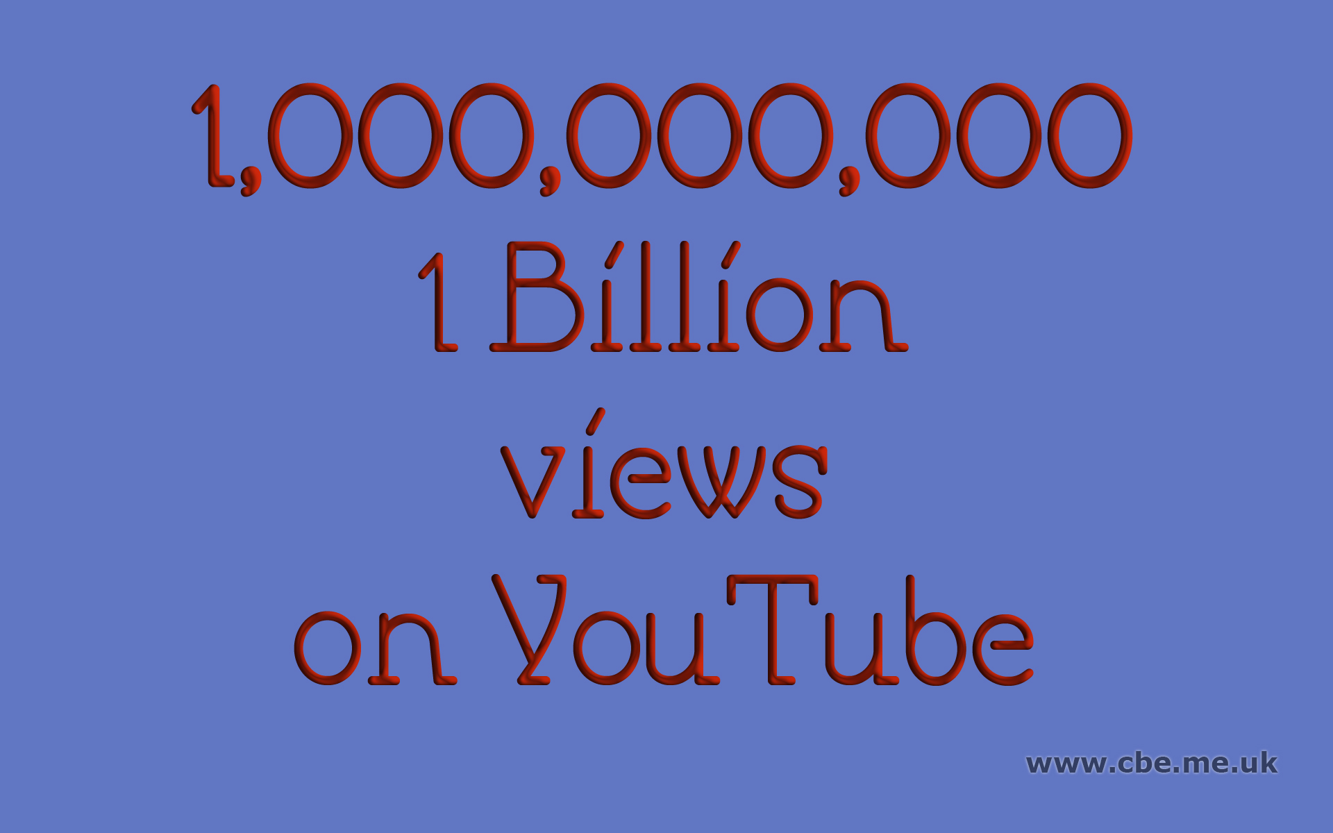 2 billion video views party orgy 3